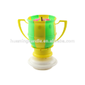 Beautiful football Birthday candle-Music Candle