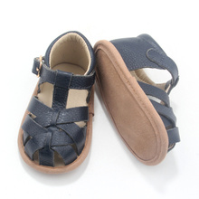 Wholesale Leather Baby Girl and Boy Shoes Sandals