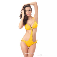 Factory Free sample for One-Piece Women'S Swimsuit Sexy Bikini Eight Color Polyester Ladies Swimsuit export to Congo Suppliers