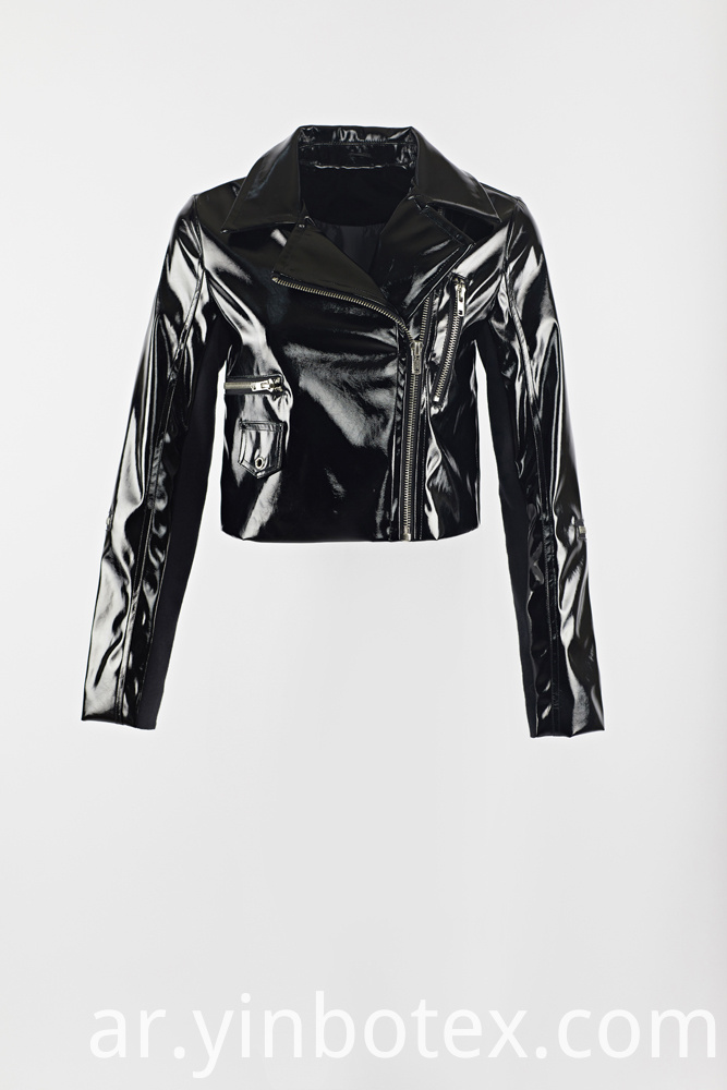 SHINY BIKER JACKET