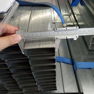 ASTM A500 pregalvanized steel rectangular tube
