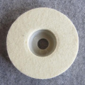 Felt wheel for polishing glass/stone/metal/wood/jewelry
