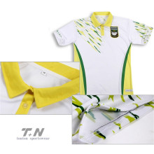 Professional China for mens polo shirts guangzhou custom printed polo shirts sublimation supply to Yemen Factories
