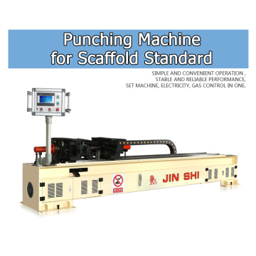 Scaffolding standard punching machine
