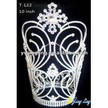 "10"" Custom Lager Snowflake Flower Pageant Crowns"