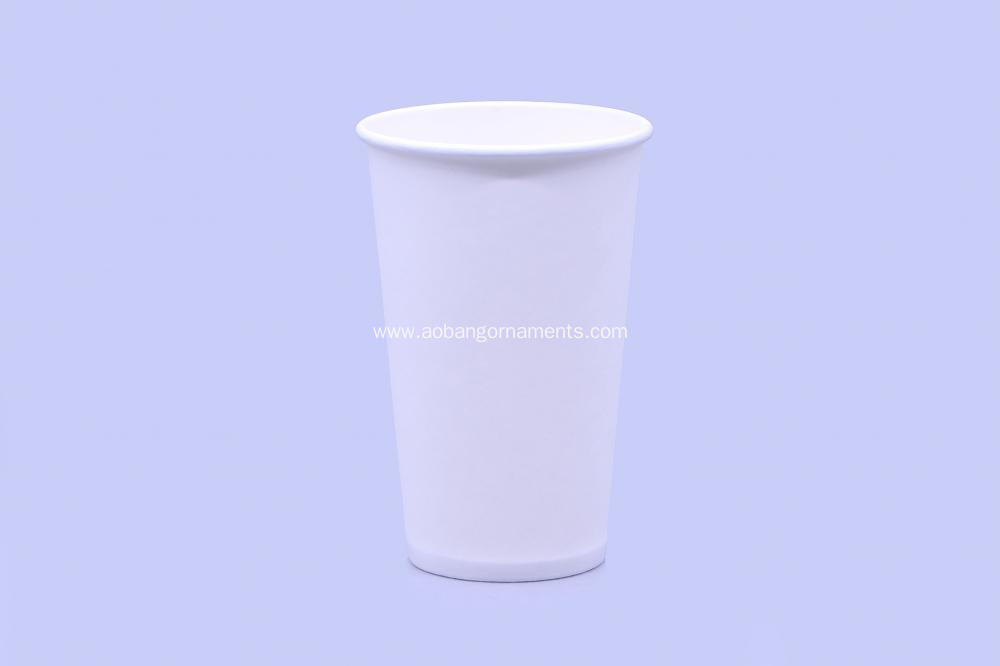 Custom disposable single wall paper cup
