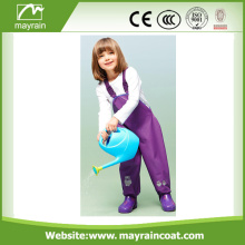 kids PU rain trousers pants rainwear