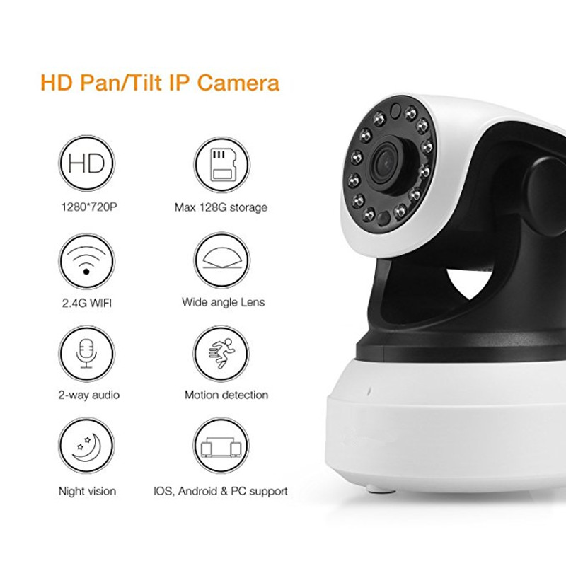 1MP Wireless Camera
