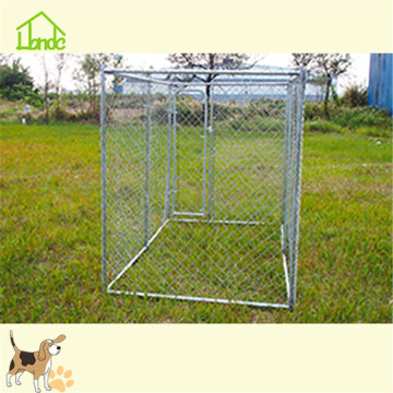 Easy to assemble large chain link dog kennel
