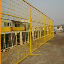 Hot galvanized portable Temporary fence