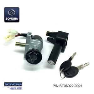 YAMAHA BWS50 LOCK SET(5 cables two plugs) (P/N:ST06022-0021) Top Quality
