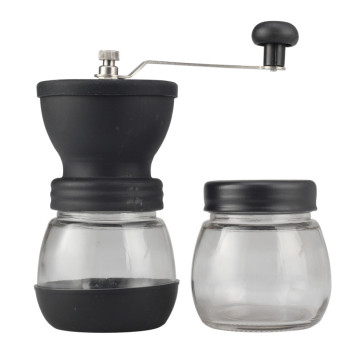 Manual Coffee Grinder With Glass Jar