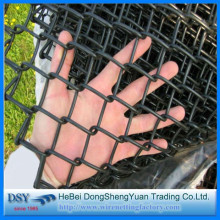 PVC Chain Link Mesh Construction Fence