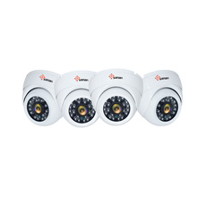 Dome IP cctv-kamera 6-pack nattsyn