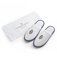 Good Quality for Disposable Slippers Disposable cotton hotel women slippers with bag export to Grenada Manufacturer