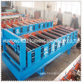 ht 850 metal sheet corrugated roof roll building machine
