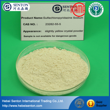 China Professional Supplier for Sulfa Drugs Drugs For Rabbit Coccidiosis Sulfachloropyrazine Sodium export to Spain Supplier