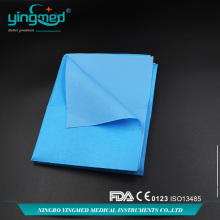 Hospital Disposable Waterproof PE Bed sheet