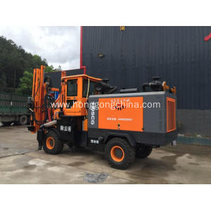 Road Barriers Installation Machine