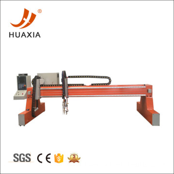200mm thickness plate cnc gantry flame cutting machine