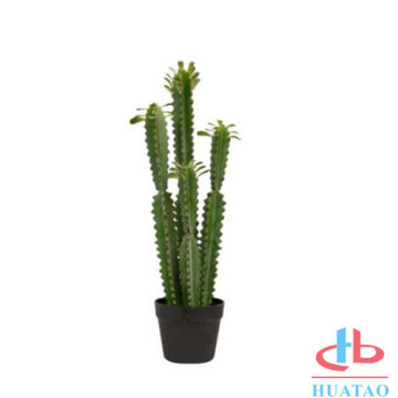 Fake plastic cactus artificial potted plants
