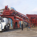 Malaysia mobile concrete admixture mixing plant  YHZS50