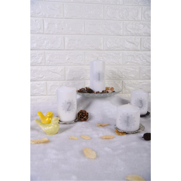 Small Scented Pillar Candle On sale