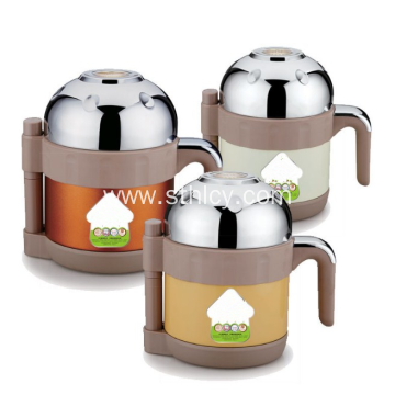 Round Stainless Steel Insulated Food Container