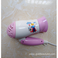 Fashionable Light Weight 1200W Safe Children Hairdryer