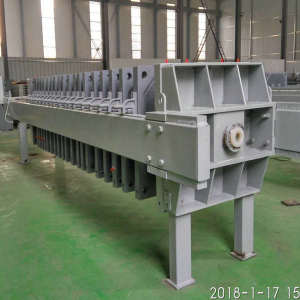 Sewage Treatment Discharge Liquid Filter Press
