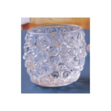 Glass Diamond Ball Tealight