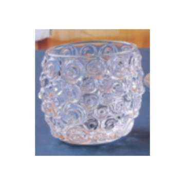Glass Big Bubble Ball Tealight