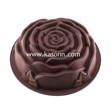 Large Rose Silicone Baking Mold Pan