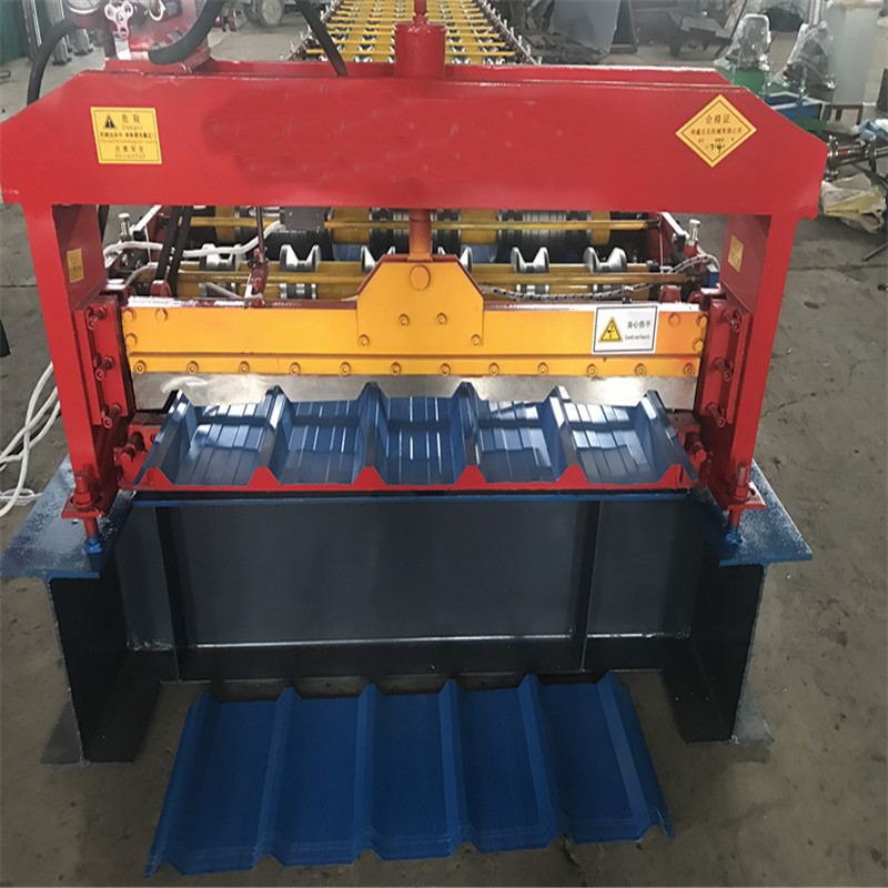 DX building roof panel roll forming machine