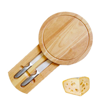 Round shape wood cheese knife dutch cheese