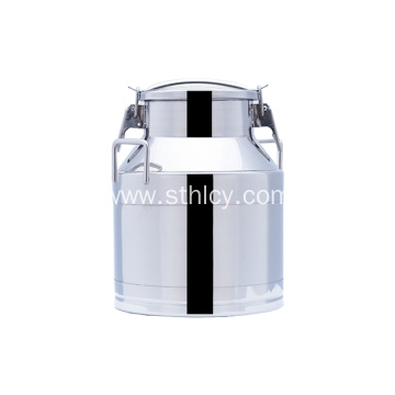304 5Gallon Stainless Steel Soup Pails With Lid