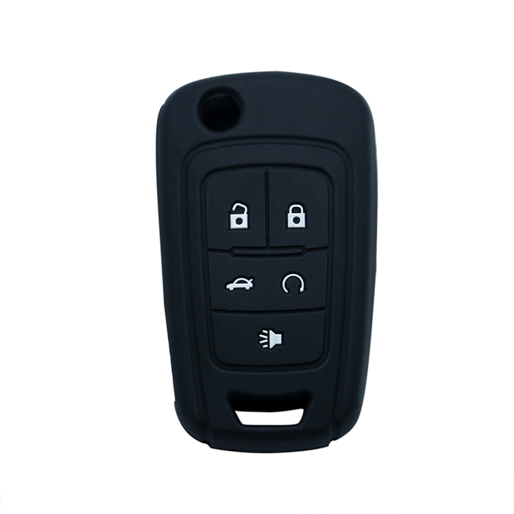 5 Button Silicone Key Fob