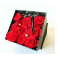 Square Roses Box Packaging Flower Paper Box
