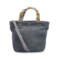 High Quality Popular Handbags Suede Leather Tote Bag
