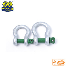 High Quality for Us Type Chain Shackle 2T Galvanized U Shackles supply to Nicaragua Importers
