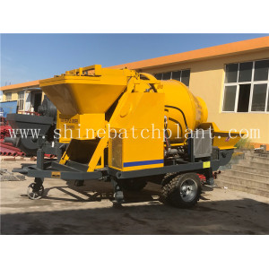 Concrete Mixer With Mixing Performance