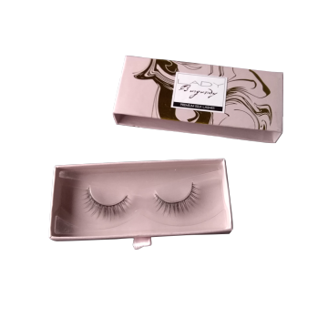 Custom Printed Gift Eyelash Slide Box