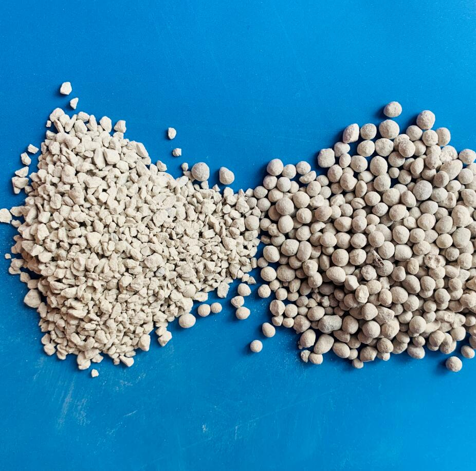 Dicalcium phosphate squeezed chips granular fertilizer