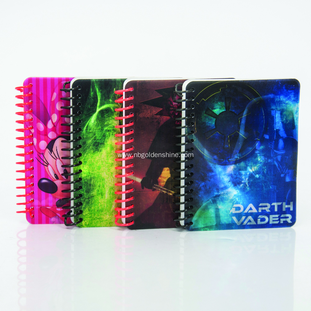 Sprial Mini Note Pad Journal