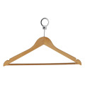 Round Head Closet Clothes Wood Hangers for Cloths