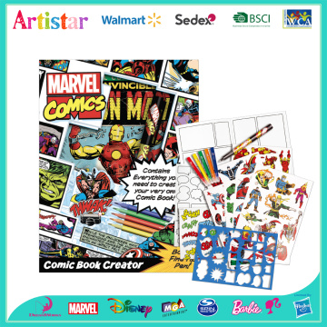 MARVEL COMIC comic book creator