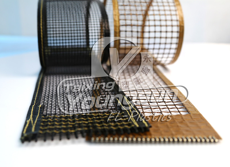 PTFE open mesh conveyor belt for dyeing machine