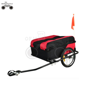 16' wheels-quick release large bike cargo trailer
