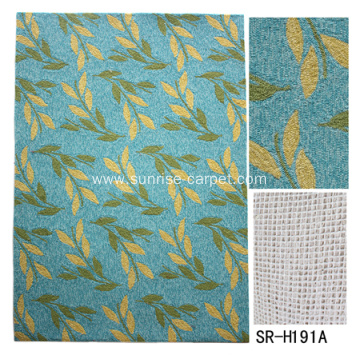 Polyester hand hooked carpet with modern design