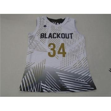 Sublimation Printed Basketball Shirt/Basketball Jersey